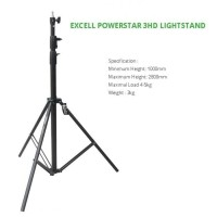 EXCELL LIGHT STAND POWERSTAR 3HD PLUS BAG