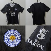 BAJU JERSEY BOLA LEICESTER CITY 3RD THIRD 2019/2020 GRADE ORI IMPORT