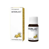 Interlac Oil Drop Probiotik Drop 5 ml Vitamin bayi