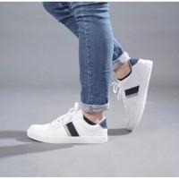 Sepatu Sneakers Pria Cowok Casual Miles&co Dalton Series Putih