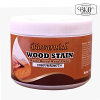 cat kayu woodstain cup 400gr waterbased biovarnish