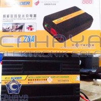 Suoer Charger 20A 12V 24V Aki Mobil Motor Accu Otomatis Volt 20 Ampere