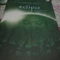 novel Eclipse Twilight Saga