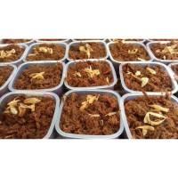 Abon Gepuk Ayam Karwati Empal Daging Suir Suwir Empuk Dendeng Rendang