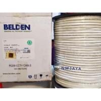 Kabel CCTV Rg59 Belden+Power [305meter] 75ohm Indoor Outdoor 9105SL2P