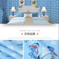 Store Wallpaper Dinding Motif Animasi Stitch size 45cm X 10m