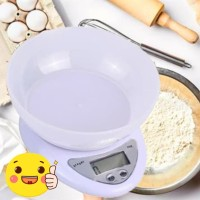 Timbangan Digital Mangkok 5kg/1g / Electronic Kitchen Scale 5KG/1G