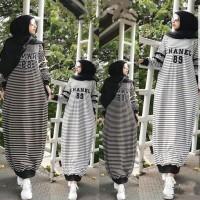 baju Gamis wanita terbaru Salur chanel