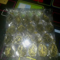 gantungan kunci kaligrafi souvenir hajatan murah