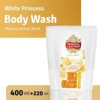 Imperial Leather Body Wash White Princess 400ml + FREE 220ml