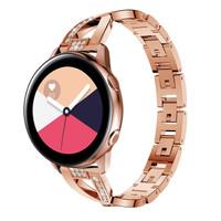 Strap Stainless Rhinestone model 1 Samsung Watch Active