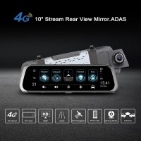 Junsun A930 Mirror Dash Camera GPS 4G HD 1080P DVR Rearview Dashcam