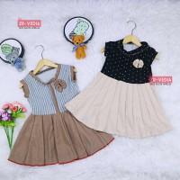 Dress Bilqis size Bayi - 6 Tahun / Dres Yukensi Murah Baju Anak Cewek