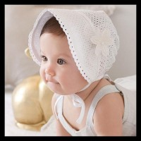 Topi Bonnet Bayi Perempuan Bunga /Baby Girl Princess Flower Cute Hat -
