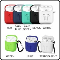 TERMURAH Apple Airpods Protection Silicone Case Pouch |Casing