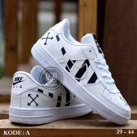 Sepatu Pria Nike Air Force One 1 Off White Sneaker Pria Sneakers