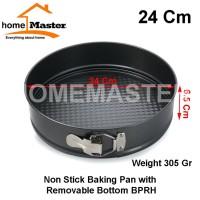 Loyang/Baking Pan Non Stick/Anti Lengkat Lepas Pasang 24 Cm BPRH24