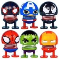 Pajangan Dashboard Mobil Superhero Goyang Kepala Accesories Mobil