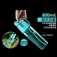 Botol Minum Sprayer BPA Free Travel Sport Drink Bottle Spray Nozzle Up