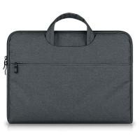Tas Laptop Softcase Nylon Jinjing Zipper 15.6 inch
