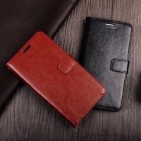 Flip Cover Wallet SAMSUNG GALAXY A50 Leather Flipcase Kulit Dompet