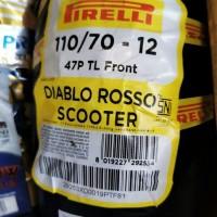 BAN PIRELLI DIABLO ROSSO SCOOTER 110/70-R12 VESPA SPRINT