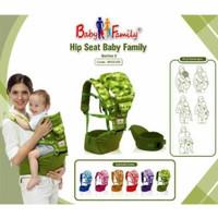 Gendongan Bayi Depan Hipseat Hip Seat Baby Scots Baby Family BFG2102