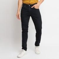 VENGOZ Celana Jeans Pria Slim Fit - Black