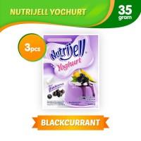 Nutrijell Yoghurt Blackcurrant 3 pcs