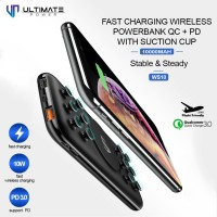 Ultimate Power WS10 Fast Charging Wireless Powerbank QC+PD 10000mAh