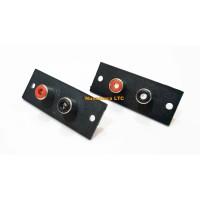 Soket RCA 2 Pin Body
