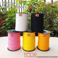 TKR2 Tali Kur Kecil 2 Benang Diameter 1,5mm (1 Bks isi 10 meter)