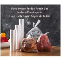 Kantong Plastik Penyimpan Makanan Daging Food Grade