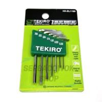 Tekiro Kunci L Set Elektronik 7 Pcs Inch Mili Hex Key Electro Termurah