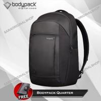 Tas Bodypack Quarter Tas Ransel Laptop Pria - Original Resmi