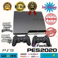 Ps3 slim CFW Seri 25xx 250gb Fullgame & 1stik Termurah hobi koleksi