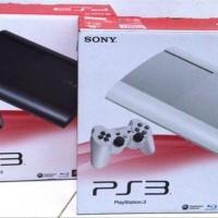 PS 3 PS3 Super Slim Superslim 500gb FULL GAME CFW 2 Stik stok terbatas