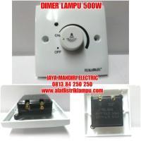 SAKLAR DIMMER HIMAWARI 500W DIMER LAMPU 500WATT 500 W 500 WATT