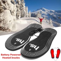 DELTA Insole Sepatu Tenaga Baterai Warna Hitam untuk Musim Dingin