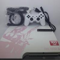 PS3 SLIM CFW 160GB SERI 20XXX FINAL FANTASY EDITION aneka koleksi