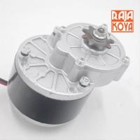 Dinamo gear box 24V 250W DC motor skuter sepeda listrik grab it fast