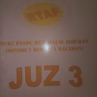 Buku Panduan Menghafal Alquran Juz 3 & 4