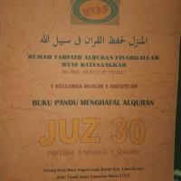 Buku Panduan Menghafal Alquran Juz 30