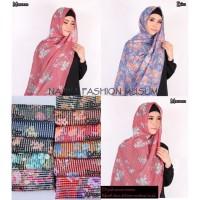 Murah Hijab / Jilbab / Kerudung pasmina sabyan diamond Motif Bunga