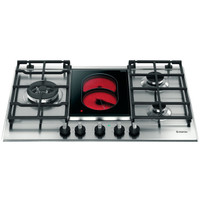 Ariston Built in Gas & Vitro Ceramic Hob 75Cm PK741RQO(GH)