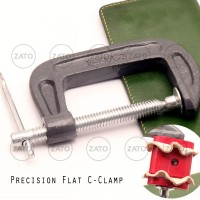 Precision Flat C Clamp - Leather tool - leather tools - jepitan
