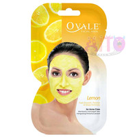 OVALE Facial Mask Avocado Cucumber Lemon Tomato Yam Bean Sachet 15 gr