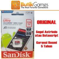 Sandisk 128GB 100mbps Micro SD Original Garansi Resmi