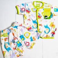Baju Bayi Laki-laki / Perempuan New Born Velvet Junior Setelan Pendek