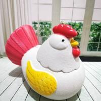 Celengan Plastik Unik bentuk Ayam